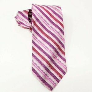 Brooks Brothers Irregular 100% Silk Tie Hand Made